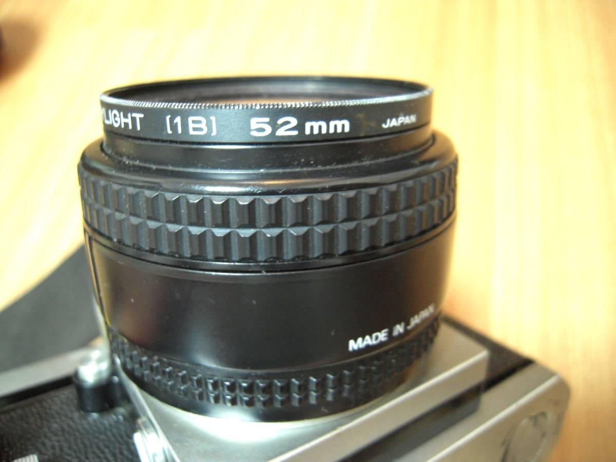 Nikon F 6491909, AF NIKKOR 28mm 1:2.8 レンズ_画像8