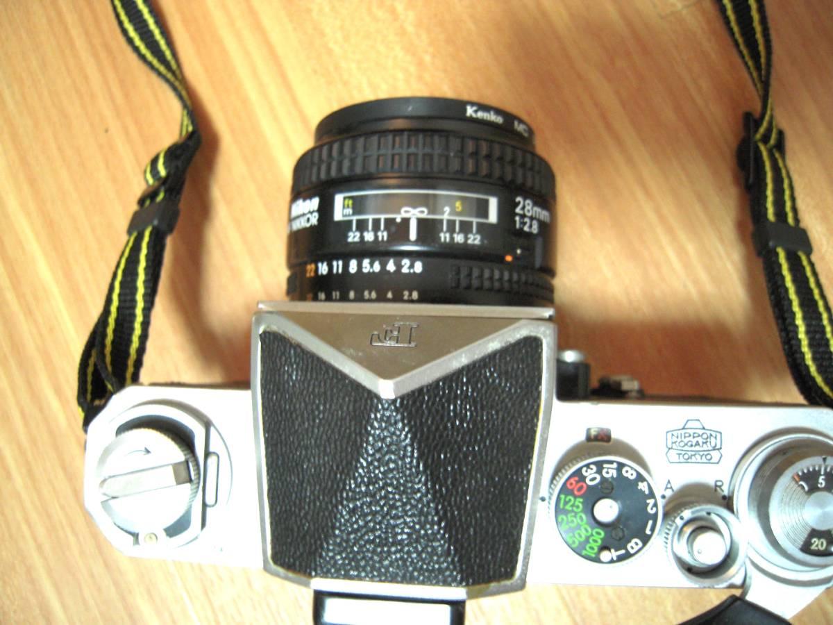 Nikon F 6491909, AF NIKKOR 28mm 1:2.8 レンズ_画像3