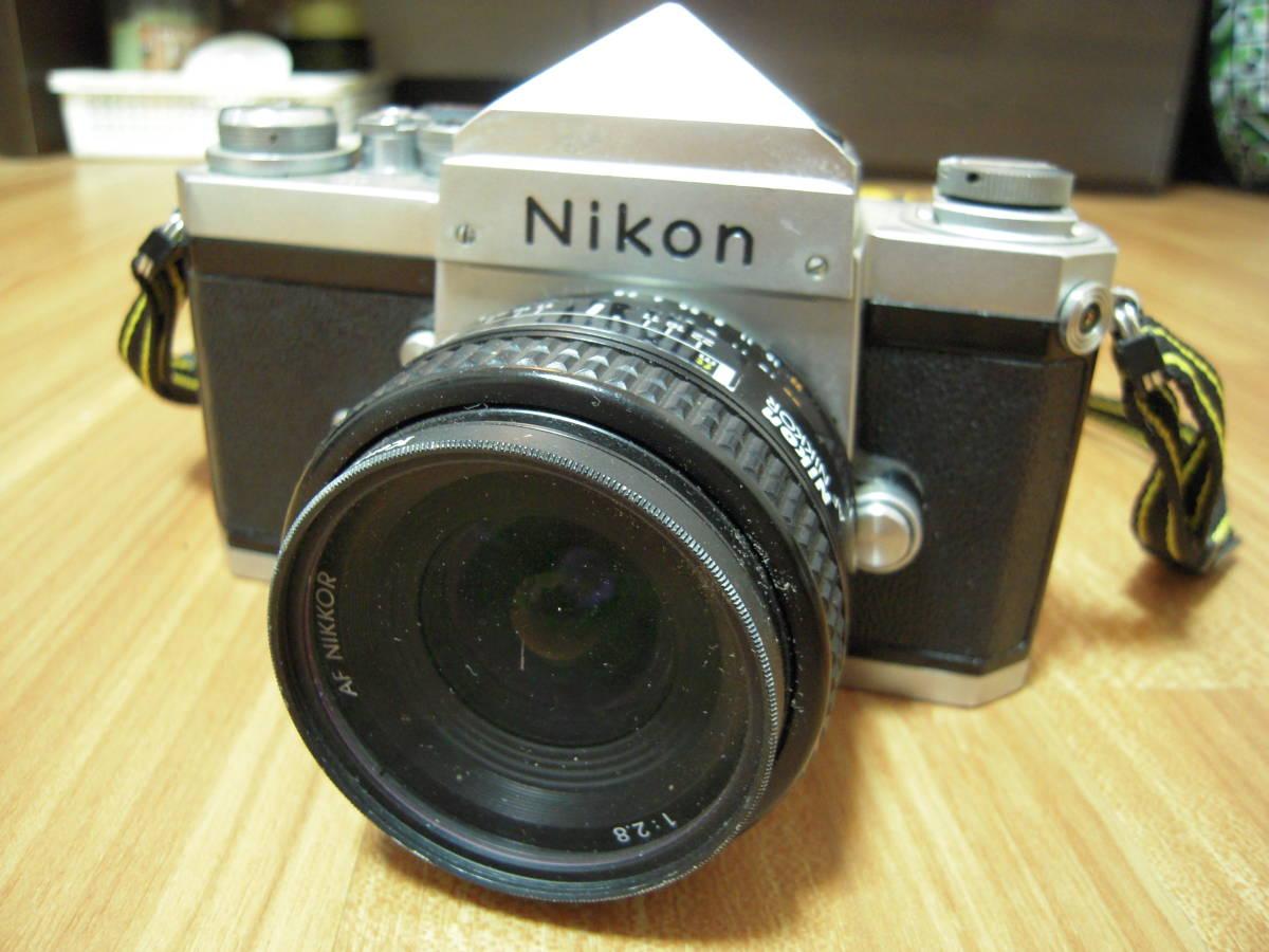 Nikon F 6491909, AF NIKKOR 28mm 1:2.8 レンズ