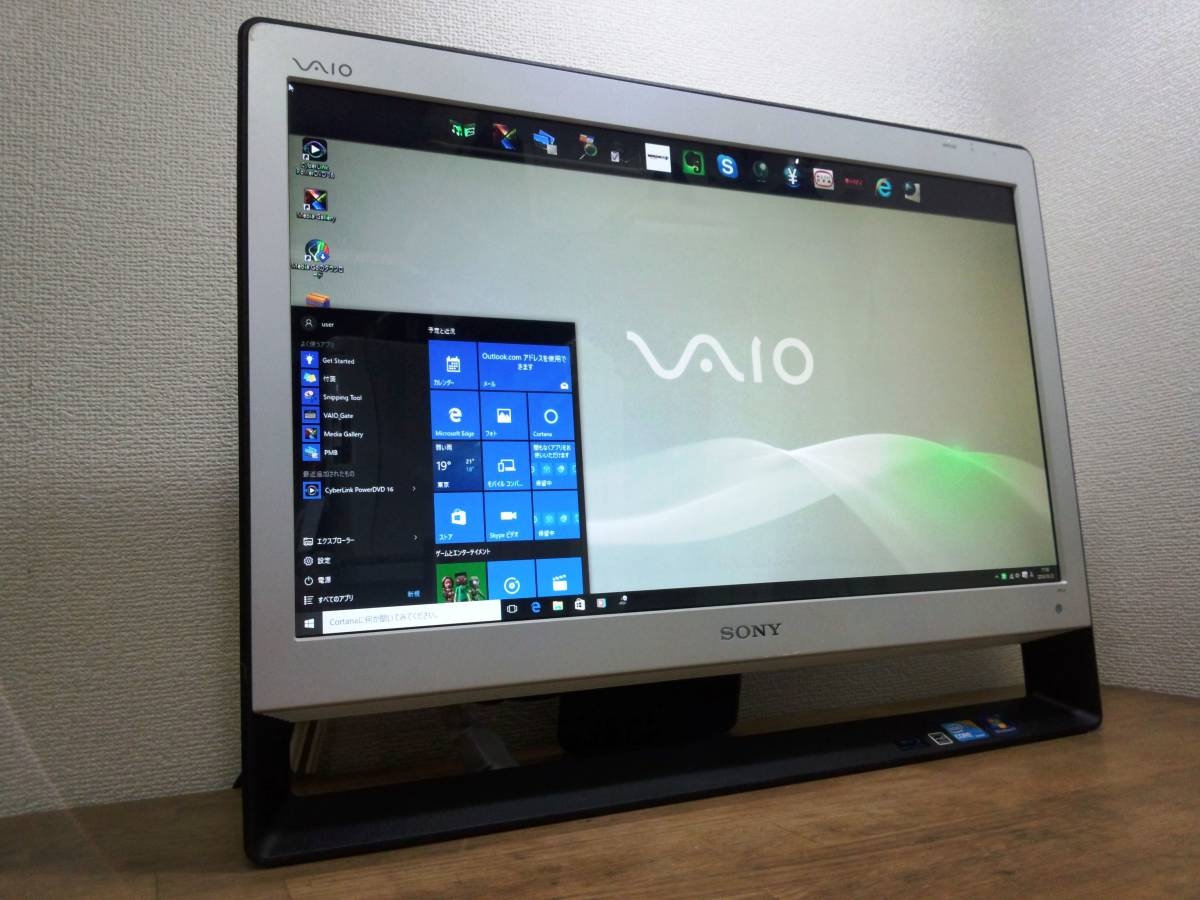 ★☆[Windows10]VPCJ138FJW/Corei5/4G/Office/3波TV/Blu-ray☆★
