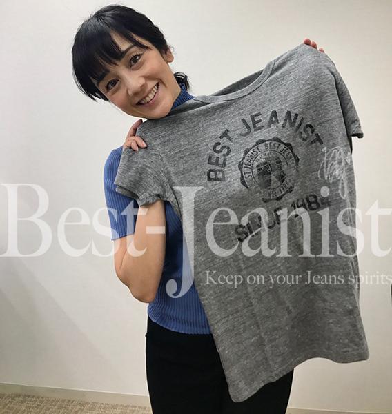 [チャリティ]西田ひかるさんサイン入りベストジーニストTシャツ1