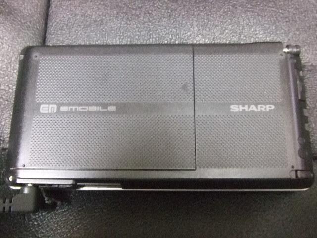 ジャンク扱い SHARP GM emobile_画像4