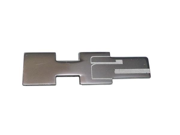 CODE9 HUMMER H2 ビレットクローム チョッパー ドアハンドル&ドアバケット ディンプル/スムース H2ロゴエンブレム付 【H2CB-260S/280D】_画像7