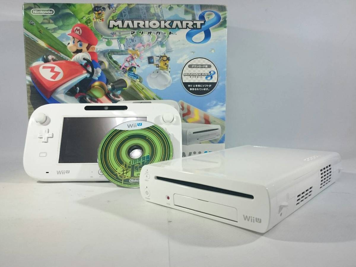 [36]Nintendo Wii U 本体 コントローラ おまけ付き