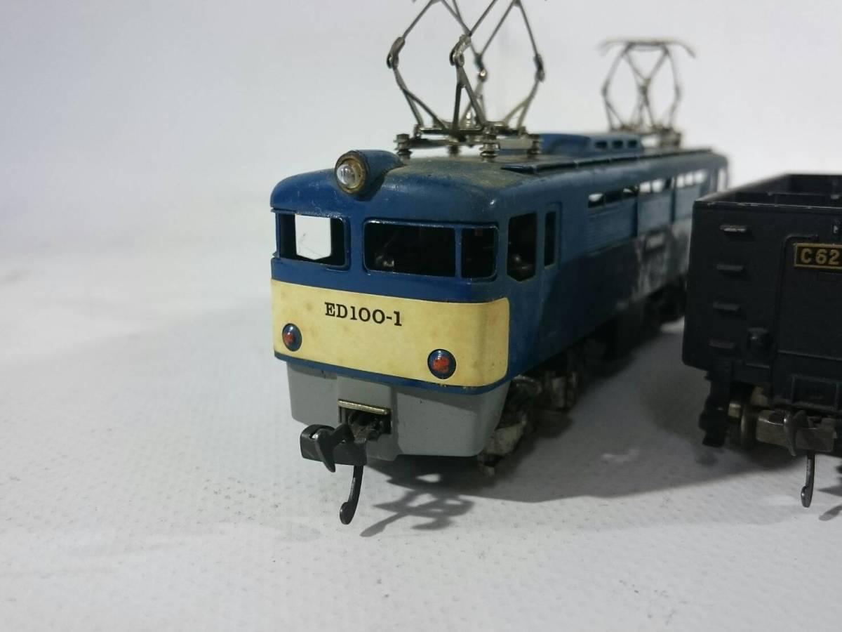 [48]Hoゲージ 鉄道模型 ED100-1 おまけ C6210 詳細不明品