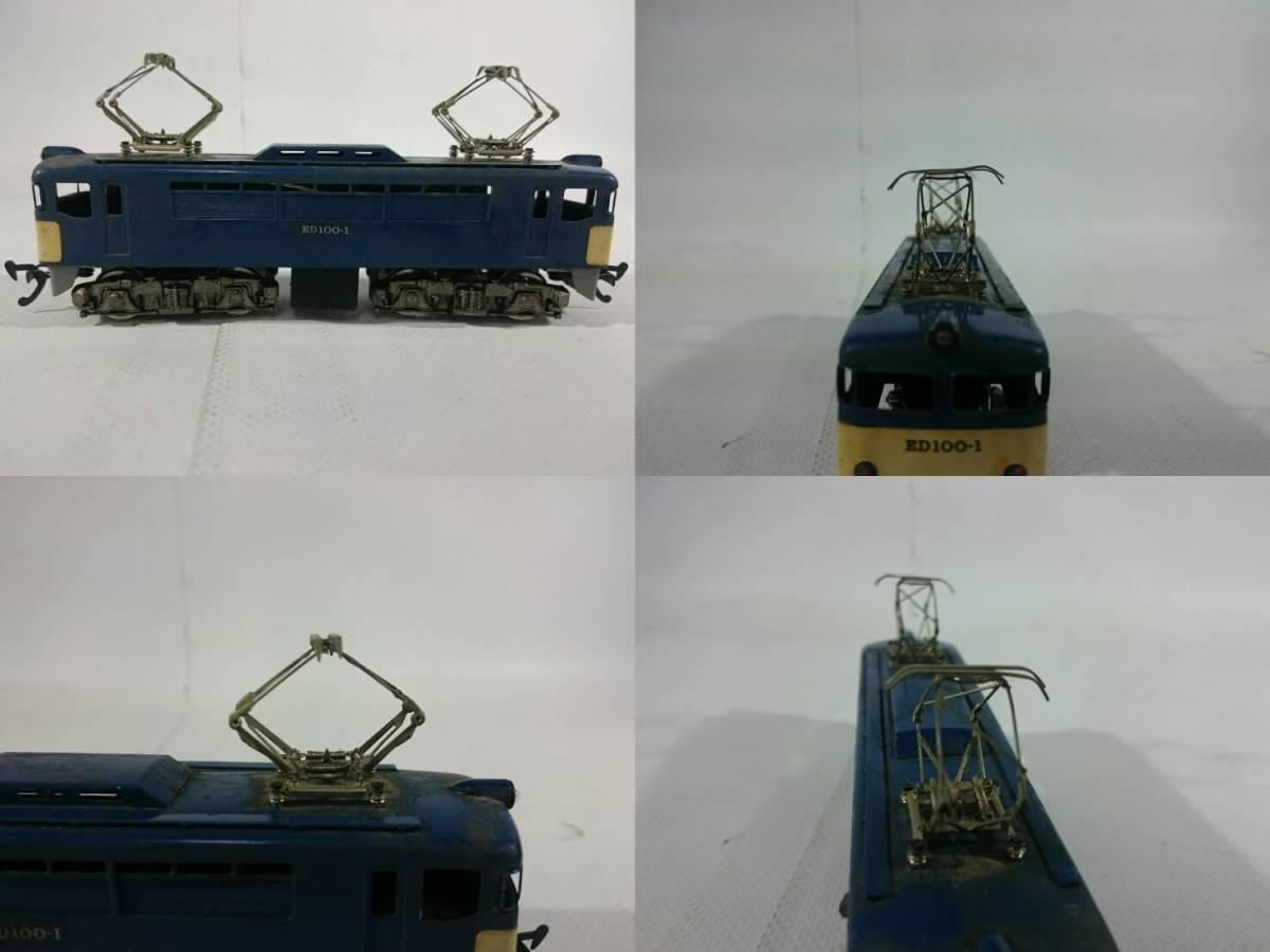 [48]Hoゲージ 鉄道模型 ED100-1 おまけ C6210 詳細不明品_画像2