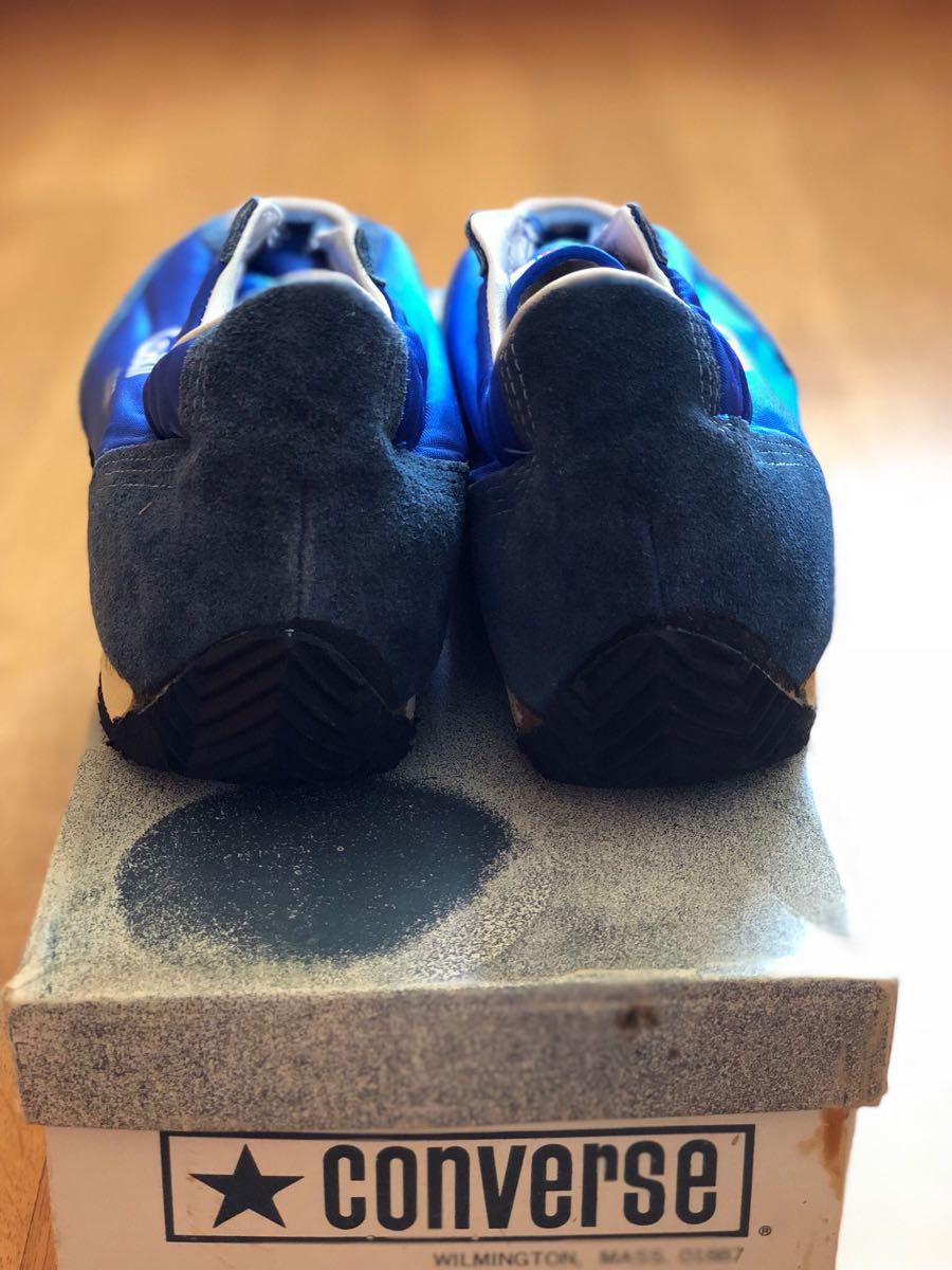 新品 デッドストック 箱付 Converse coach jogger 7.5 ビンテージ コンバース コーチ 70s usa_画像3