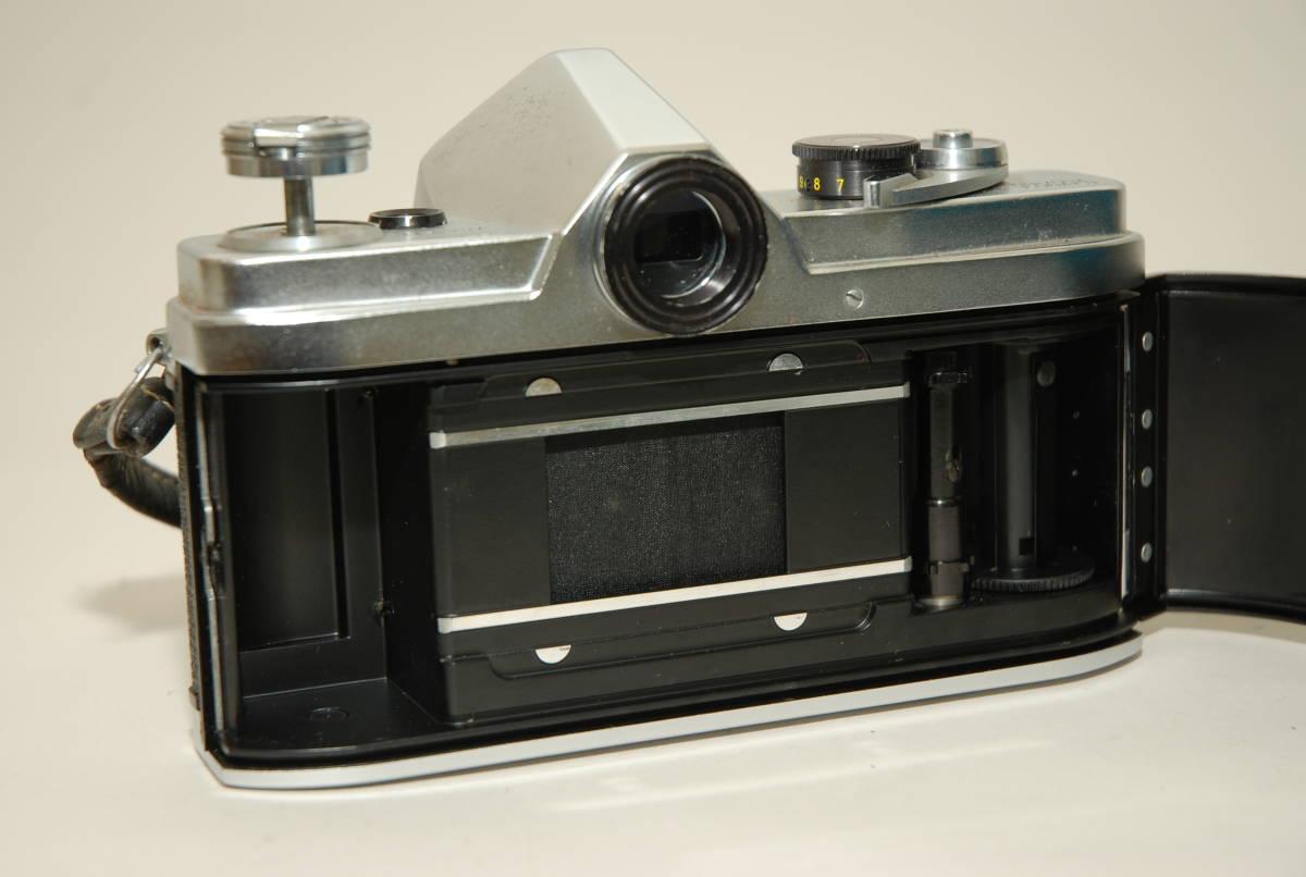 MINOLTA/ミノルタ SR-1   AUTO ROKKOR-PF 1:2 f=55mm KAKOストロボジャンク_画像10