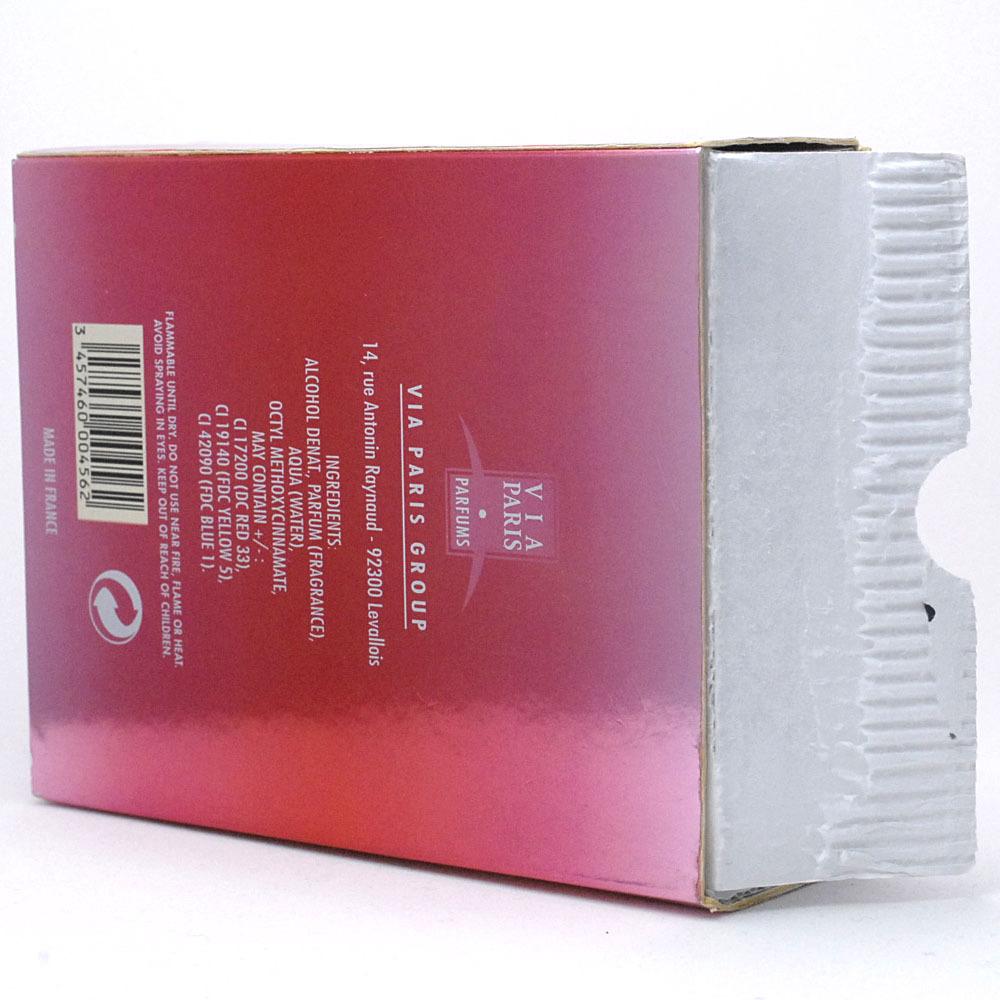 【取り置き同梱OK】ヴィアパリス アクアノヴァ ハー EDT 100ml 廃盤 希少 入手困難_箱上蓋がありません