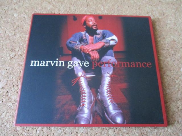 Marvin Gaye/Performance マーヴィン・ゲイ 2002年 ライブの、大傑作・大名盤♪ 廃盤♪ デジパック仕様♪脂の乗り切った、全盛期のライブ♪_画像1