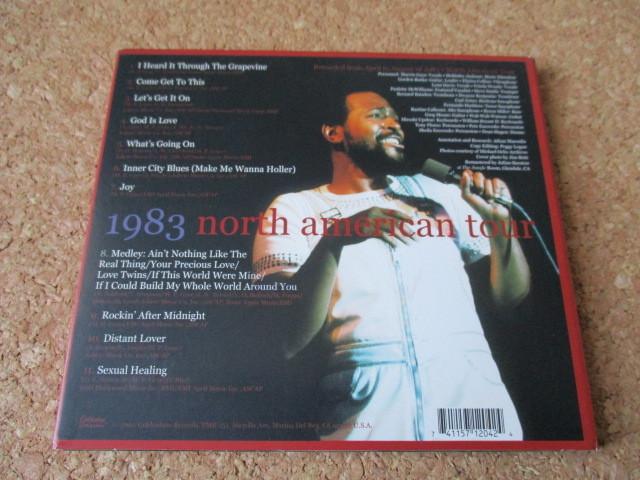 Marvin Gaye/Performance マーヴィン・ゲイ 2002年 ライブの、大傑作・大名盤♪ 廃盤♪ デジパック仕様♪脂の乗り切った、全盛期のライブ♪_画像2