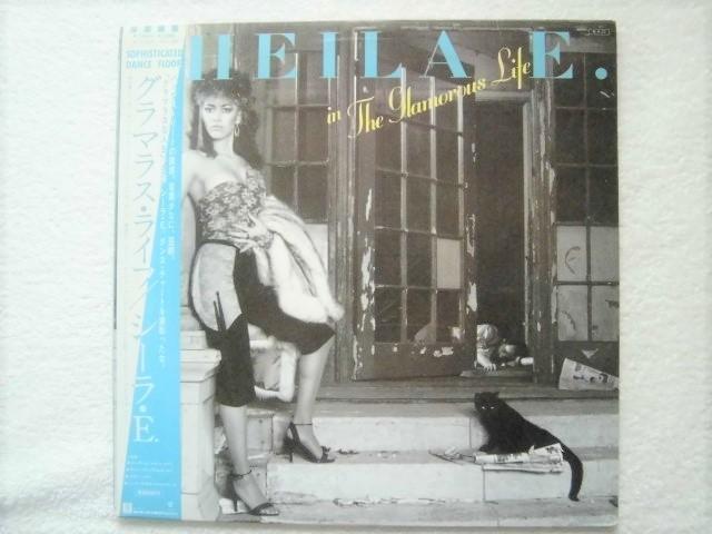国内盤帯付 / Sheila E. /In The Glamorous Life /プリンス関連/ 「The Glamorous Life」「The Belle Of St. Mark 」収録/石川秀美ネタ?_画像1