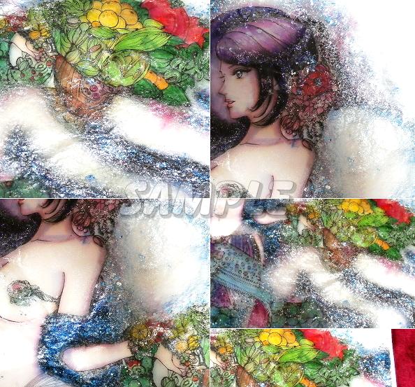 এ 3 বিউটি পিকচার নিরাময়ের হাত থেকে আঁকা মূল চিত্রের শিল্প চিত্র সিজি হ্যান্ড ড্রইড অরিজেনাল্ট চিত্র সিজি বুদ্ধিমান মেয়ে সৌন্দর্য, আর্টস এবং পেইন্টিং এবং প্রতিকৃতি চিত্র