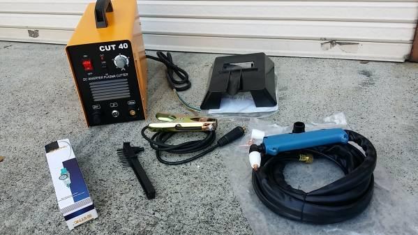 単相100V/200V仕様  プラズマ切接機 CUT40/最大12mm切断/切断機/プラズマカッター