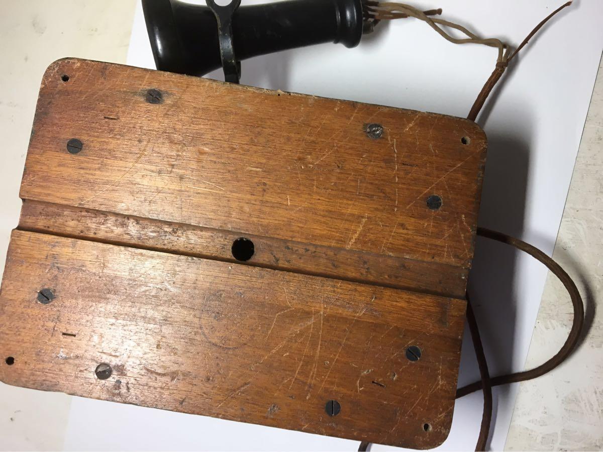 古い電話機 日本電気株式会社_画像7