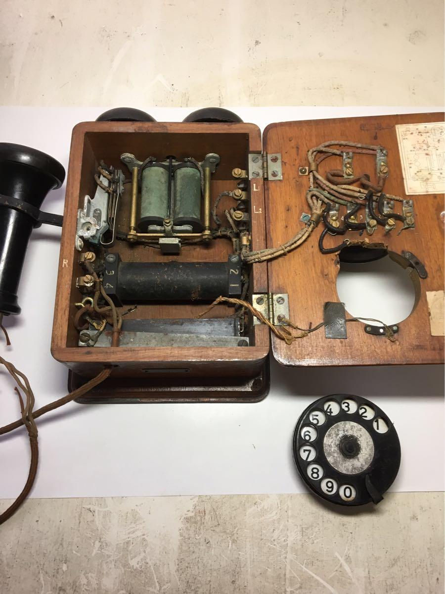 古い電話機 日本電気株式会社_画像3