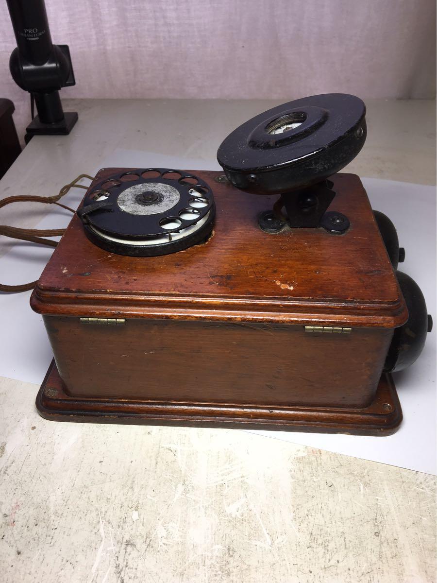 古い電話機 日本電気株式会社_画像9