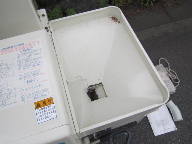 【取説付き★程度良好】サタケ 籾摺機 グルメマスター GPS350 BMX(1) 3インチ 200V 籾摺り機 ライスマスター_画像8