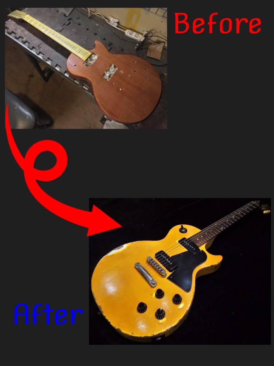 ■ エイジド・レリックオーダーフォーム セット/スルーネック・ギター Les Paul /SG etc... ■_画像5