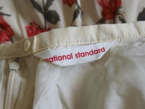 NATIONAL STANDARD バラプリント チュールスカート★ナショナル スタンダード_画像5