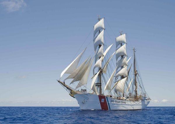 帆船 クリッパー セーリング・シップ ヨット 航海 海 絵画風 壁紙ポスター 特大 A1版 830×585mm はがせるシール式 013A1 アンティーク、コレクション&乗り物&船