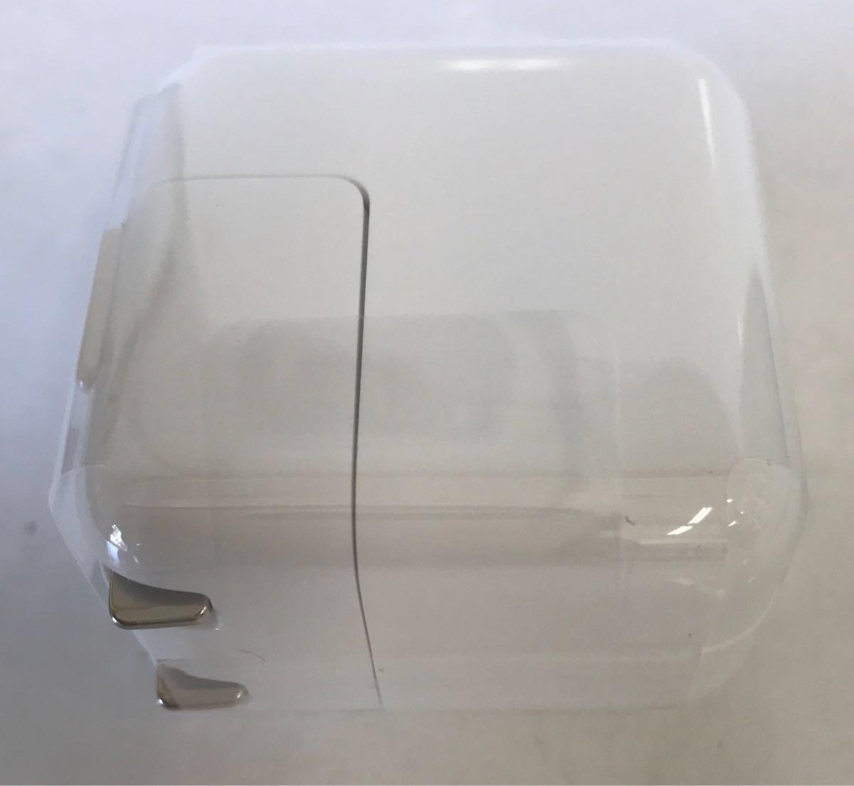 【Apple純正品】 iPad付属品 USB充電器(10W)、ライトニングケーブル【未使用】本体無し_画像3