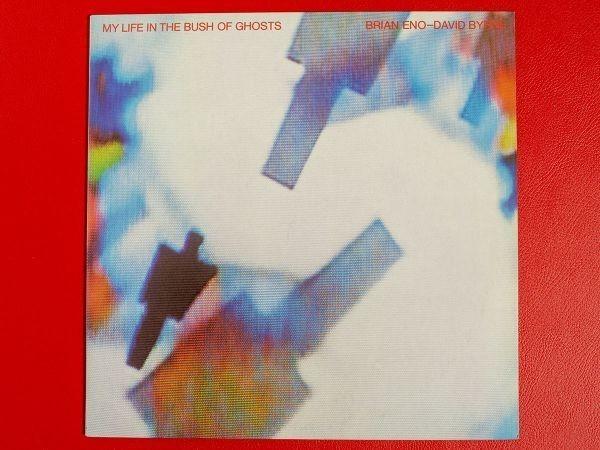 ◇デイヴィッド・バーン&ブライアン・イーノ Brian Eno David Byrne/ブッシュ・オブ・ゴースツ/国内盤LP、P-6489