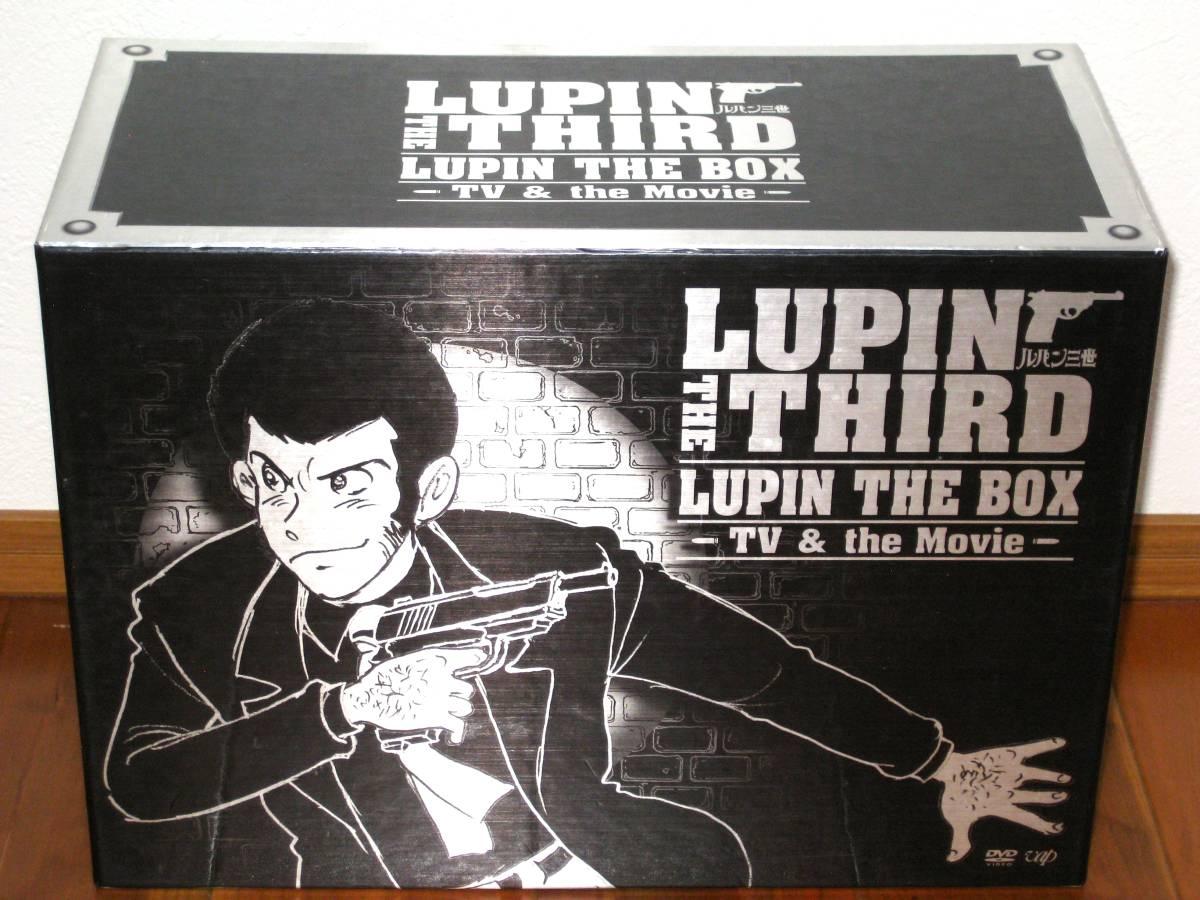 ルパン三世 LUPIN THE BOX TV&THE MOVIE