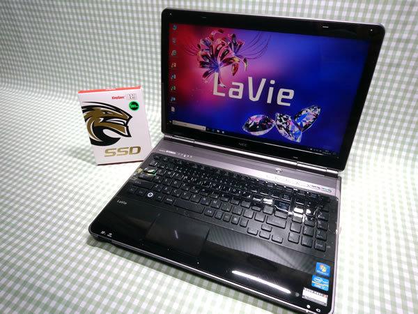 超高速 Core i7 【新品】360G SSD【超快速仕様☆Windows10】NEC LL770/F PC-LL770FS メモリ8G BD-RE Office 高音質YAMAHA音源 1円~