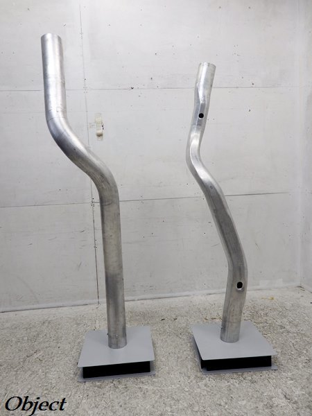 Objet En Aluminium l239# beautiful goods # aluminium # modern # objet d'art 2 pcs. set