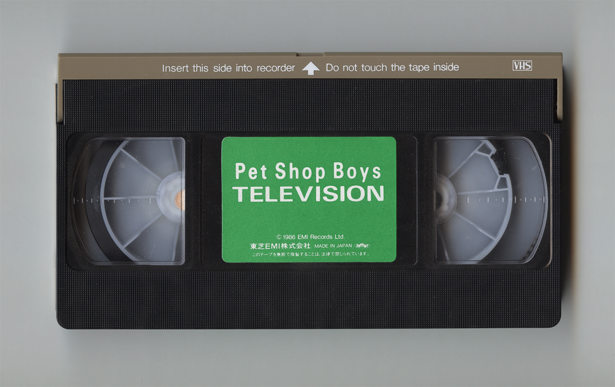 ★即決★VHS 美品★ペットショップボーイズ★テレビジョン★Pet Shop Boys★TELEVISION_画像4