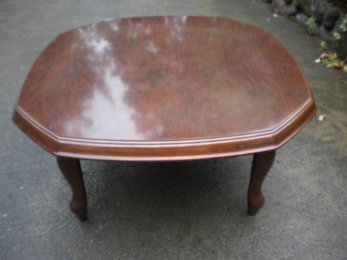 Tremendous Used Antique Vintage Natural Tree Center Table Low Table Download Free Architecture Designs Scobabritishbridgeorg