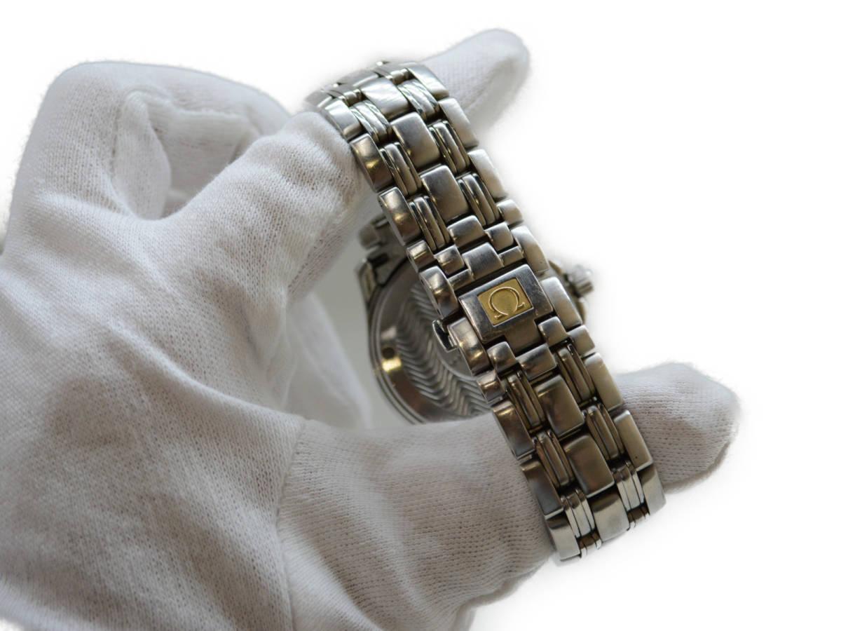 ☆ OMEGA オメガ 2511.81 Seamaster シーマスター 120m クォーツ 腕時計 メンズ_画像8