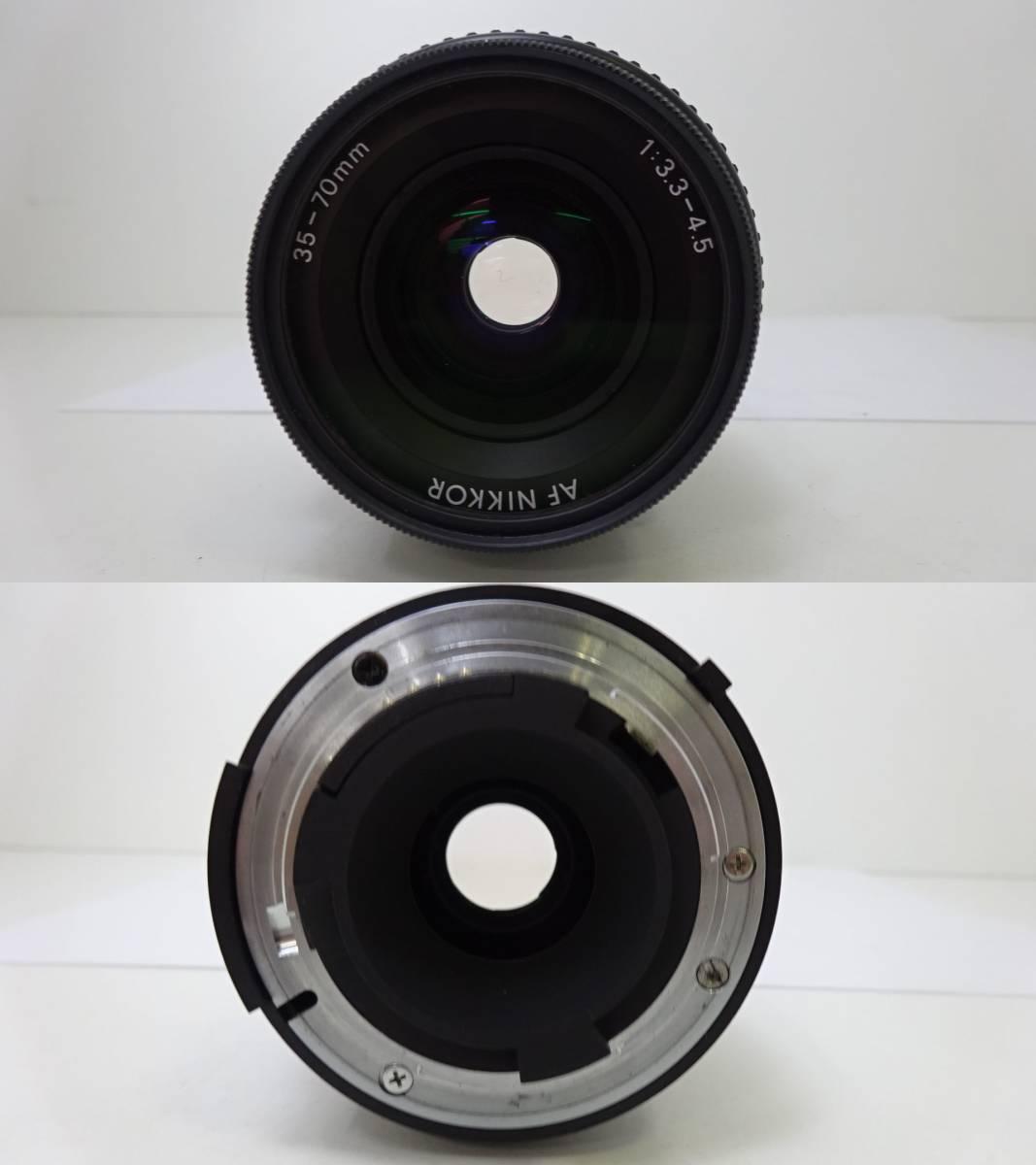Nikon F3 HP ボディ☆レンズ Nikon AF NIKKOR 35-70㎜ 1:3.3-4.5☆カバー ストラップ 付☆外観美品♪☆306083_画像7