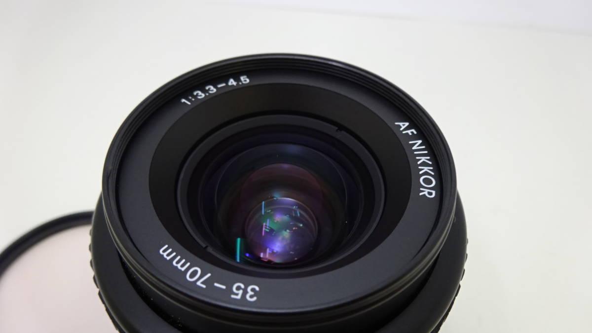 Nikon F3 HP ボディ☆レンズ Nikon AF NIKKOR 35-70㎜ 1:3.3-4.5☆カバー ストラップ 付☆外観美品♪☆306083_画像9