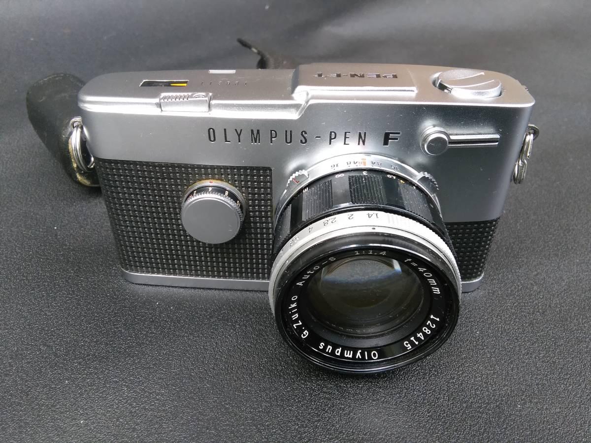 OLYMPUS-PEN FT/G.Zuiko Auto-S 1:1.4 f=40mm ジャンク オリンパス ペン_画像2