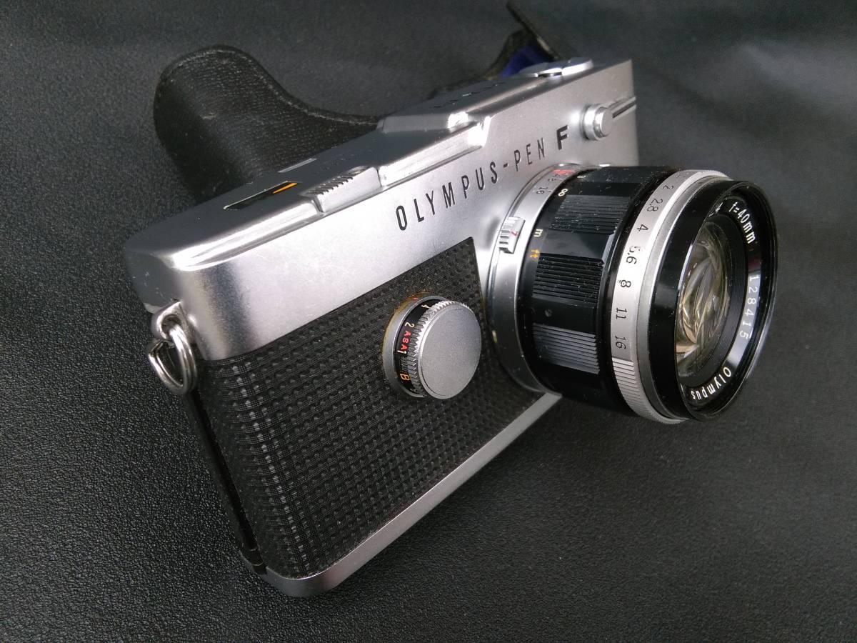OLYMPUS-PEN FT/G.Zuiko Auto-S 1:1.4 f=40mm ジャンク オリンパス ペン_画像3