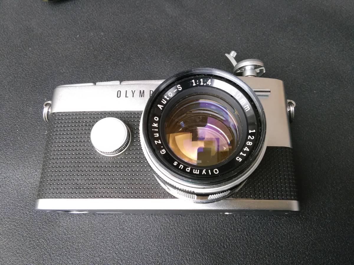 OLYMPUS-PEN FT/G.Zuiko Auto-S 1:1.4 f=40mm ジャンク オリンパス ペン_画像5
