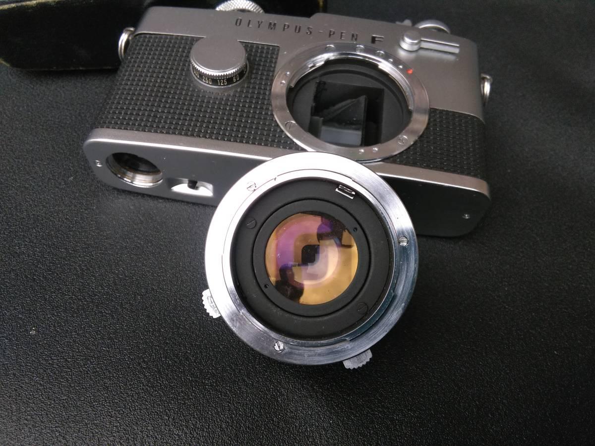 OLYMPUS-PEN FT/G.Zuiko Auto-S 1:1.4 f=40mm ジャンク オリンパス ペン_画像6