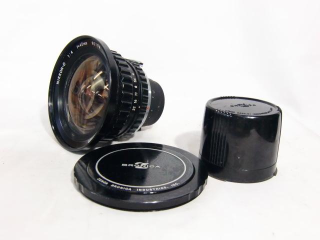 【現状品】ニコン Nikon NIKKOR-D 1:4 f=40mm ゼンザブロニカ ZENZA BRONICA 中判カメラ用 趣味 コレクション アンティーク レトロ