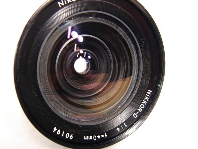 【現状品】ニコン Nikon NIKKOR-D 1:4 f=40mm ゼンザブロニカ ZENZA BRONICA 中判カメラ用 趣味 コレクション アンティーク レトロ _画像5