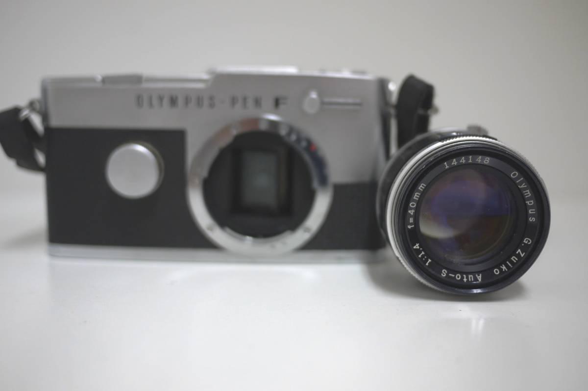 18 ジャンク OLYMPUS オリンパス PEN-FT G.Zuiko Auto-S 1:1.4 f=40mm カメラ レンズ MF マニュアルフォーカス ペン _画像2