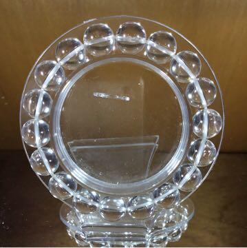 天然石ブレスレット 水晶 10.5mm珠 内周15cm_画像4