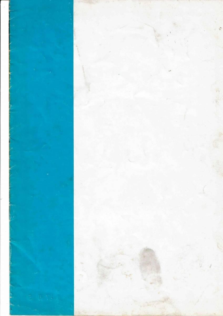 「地獄から来たプロガンマン」マカロニ・ウェスタン 映画 パンフレット 希少!_画像8