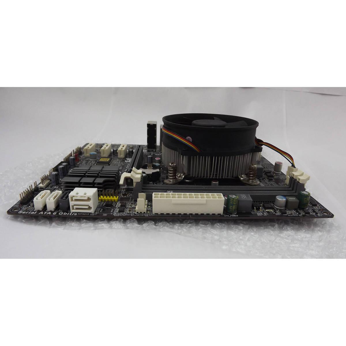 【 ECS / B75H2-M2 (V1.0) 】+【 Core i7-3770 】/ マザーボード・CPUセット・動確認済_画像2