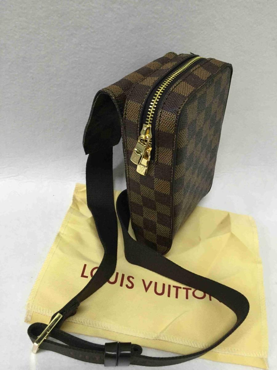ショルダーバッグ バッグ ルイ・ヴィトン 美品 正規品 LOUIS VUITTON 男女兼用 レザー_画像4