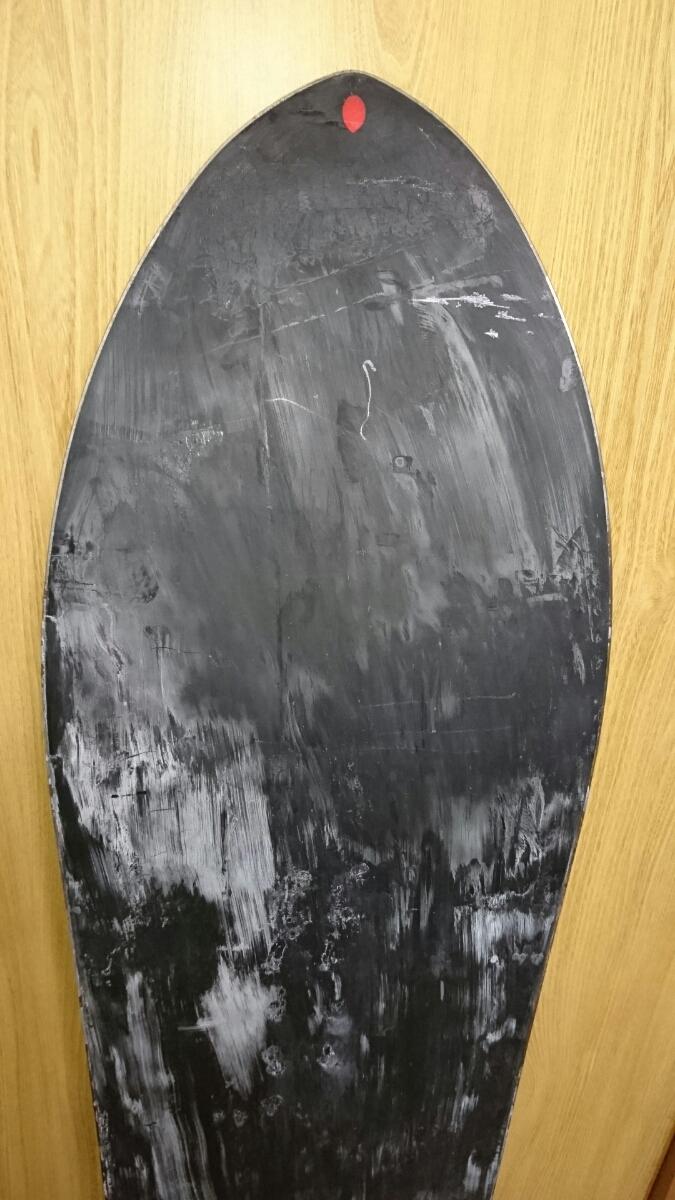 中古 現状渡し 145cm GENTEMSTICK ROCKET FISH 145cm ゲンテンスティック パウダーボード ロケットフィッシュ スノーボード 板 _画像8