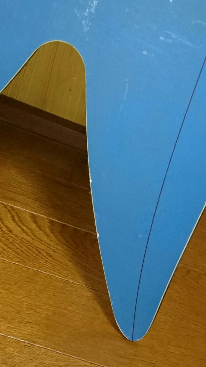 中古 現状渡し 145cm GENTEMSTICK ROCKET FISH 145cm ゲンテンスティック パウダーボード ロケットフィッシュ スノーボード 板 _画像5