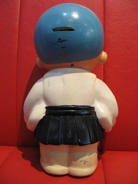 ◆即決◆ 希少品? 古い一休さん? 貯金箱フィギュア 人形 ソフビ  ※高さ=約25.5cm _画像10