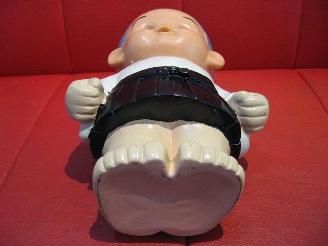 ◆即決◆ 希少品? 古い一休さん? 貯金箱フィギュア 人形 ソフビ  ※高さ=約25.5cm _画像6